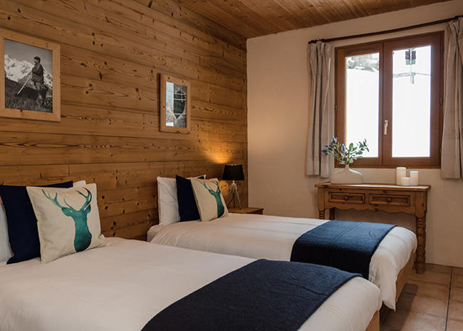Catered chalet room in Peisey